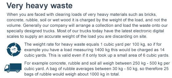 waste disposal with a free quote across wd1